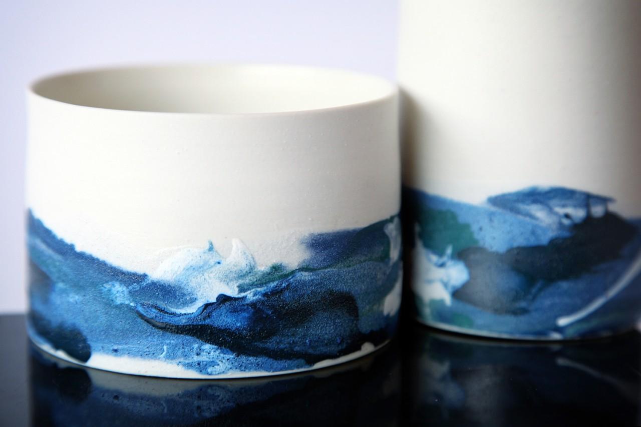 Myriam Chemla Variation bleu